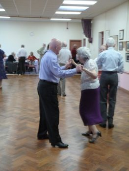 Tea dance Pembrokeshire Letterston and Crew