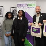 The Mayor of Hackney and Cllr Burke with some of our volunteers