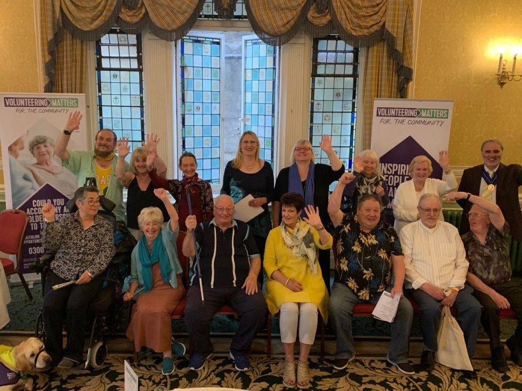 LifeLines Volunteers at their Volunteers' Week Celebration
